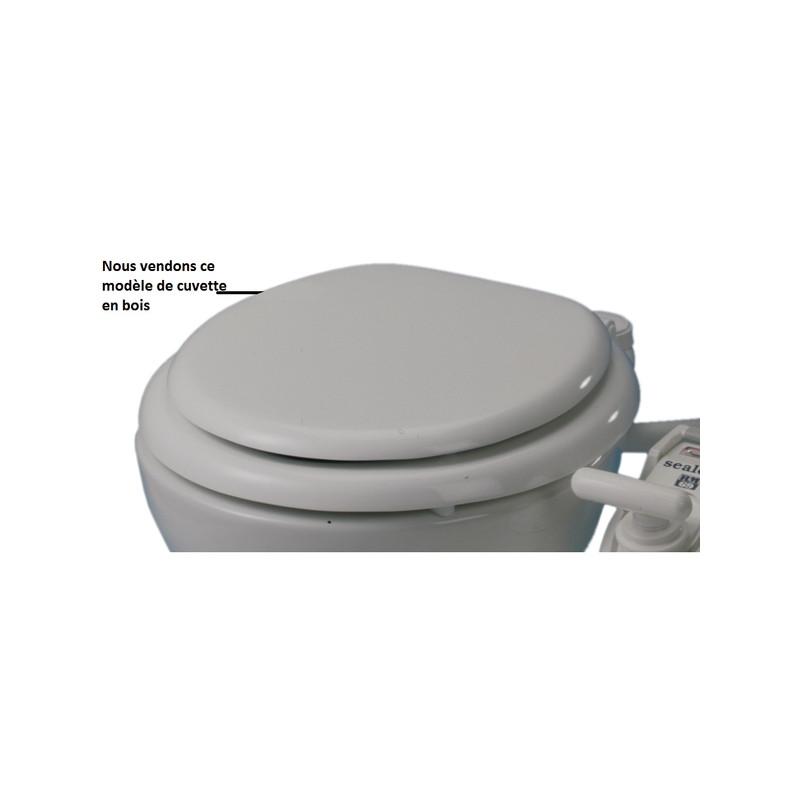 si ge et couvercle bois pour wc marin rm69 56 90 orangemarine. Black Bedroom Furniture Sets. Home Design Ideas