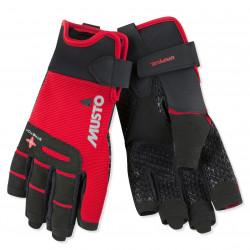 Gant doigts court performance gripflex - Rouge - MUSTO