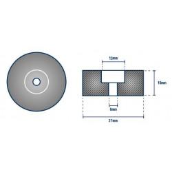 Anode rondelle diam. 20 mm MARINER - ORANGEMARINE