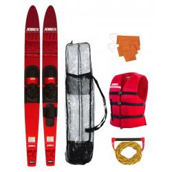 "Pack ski nautique combo ALLEGRE Rouge - 59"" - JOBE"