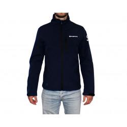 Veste Softshell coupe vent et imperméable Bleu marine - ORANGEMARINE