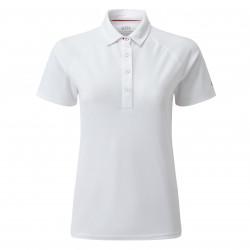Polo très léger avec protection UV 50+ pour femme - Gill UV008 - Blanc