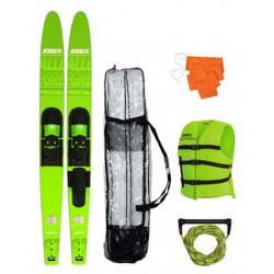 Pack ski nautique combo ALLEGRE Vert - - JOBE