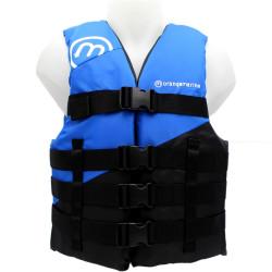 Gilet sport nautique 50N 4 boucles Bleu - ORANGEMARINE