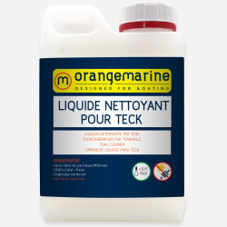 Liquide nettoyant pour teck - ORANGEMARINE