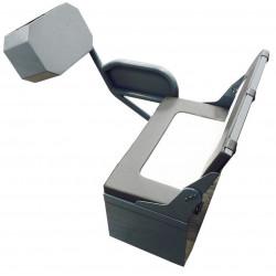 Siège console aluminium - ORANGEMARINE