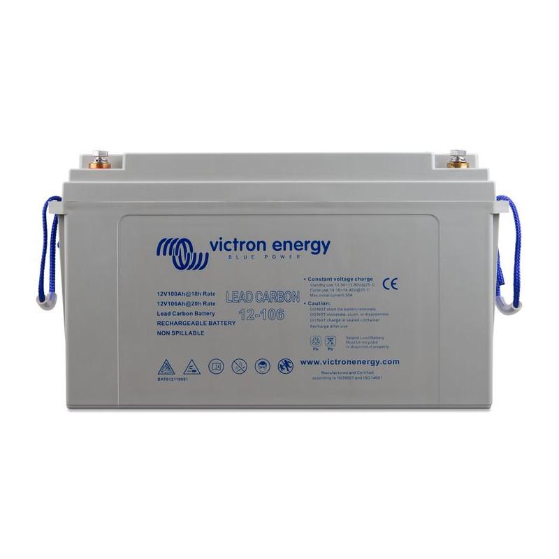 Batterie marine 12V accessoire décharge lente Plomb Carbone - VICTRON