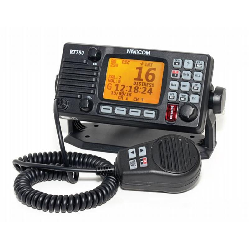 VHF Fixe RT750 AIS V2 avec antenne GPS intégré - NAVICOM