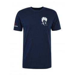 T-Shirt YES WE CAM - Bleu Marine - BERMUDES