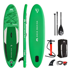 Pack Paddle gonflable Aqua Marina Breeze 9.10 2021