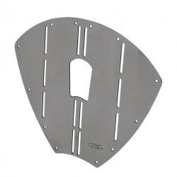 Protection d'etrave inox  Modèle 3