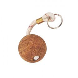Porte clés boule liège