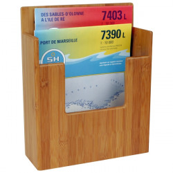 Support carte et livre bamboo - BAMBOO MARINE SYSTEM