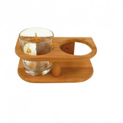 Support de verres bamboo 2 verres - BAMBOO MARINE SYSTEM