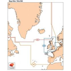 Carte C-MAP Max Mégawide - C-MAP