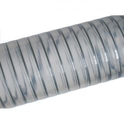 Tuyau Metalflex spire acier alimentaire 30m