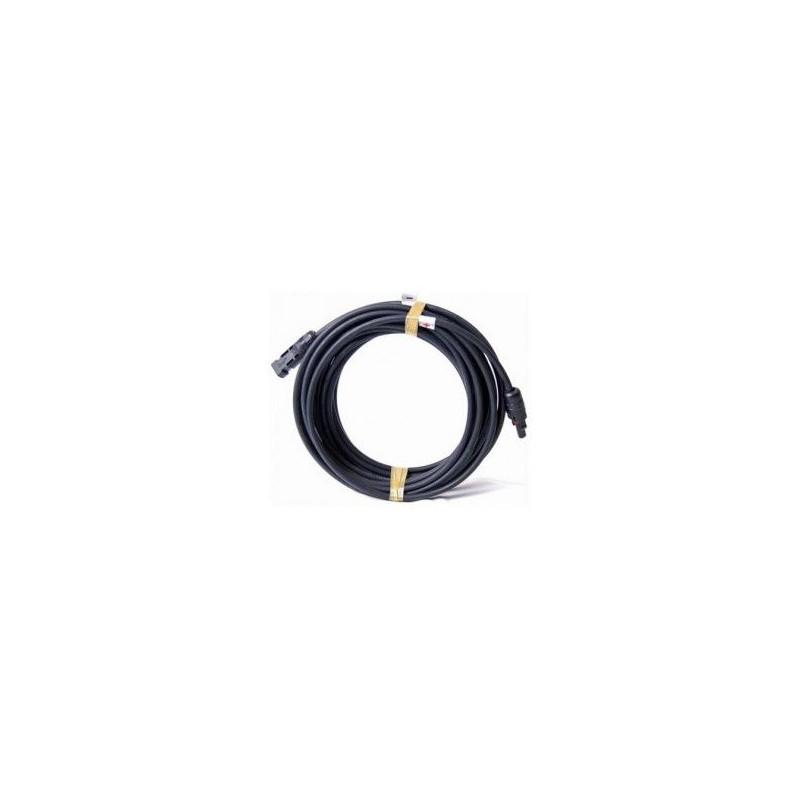 Solaire câble 6 mmâ² Désir Longueur Incl Monté mc4 Connecteurs