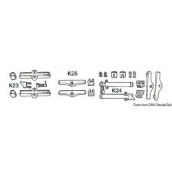 Kit K23 pour câbles C14 - Ultraflex