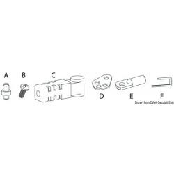 Kit pour adapter câbles K 67 - Ultraflex