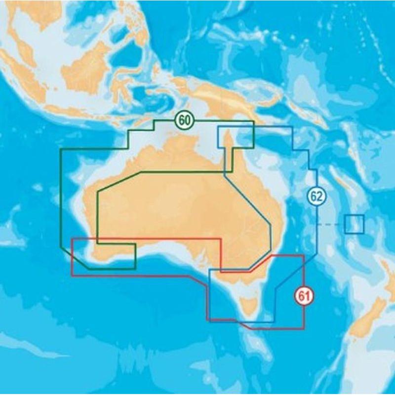 Carte Navionics Platinum+ XL3 Australie - NAVIONICS