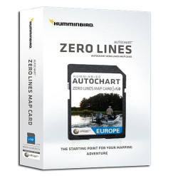 Carte SD Zeroline Supplémentaire logiciel Autochar - HUMMINBIRD