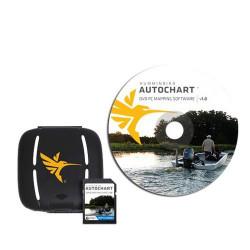 Logiciel Autochart + Carte SD Zeroline - HUMMINBIRD