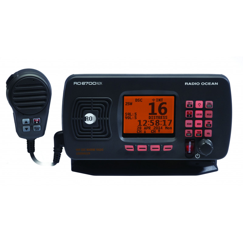 VHF Fixe RO6700 N2K - RADIO OCEAN