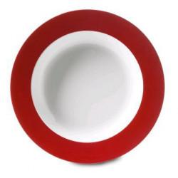 Assiette creuse wave - Rouge - ROSTI MEPAL