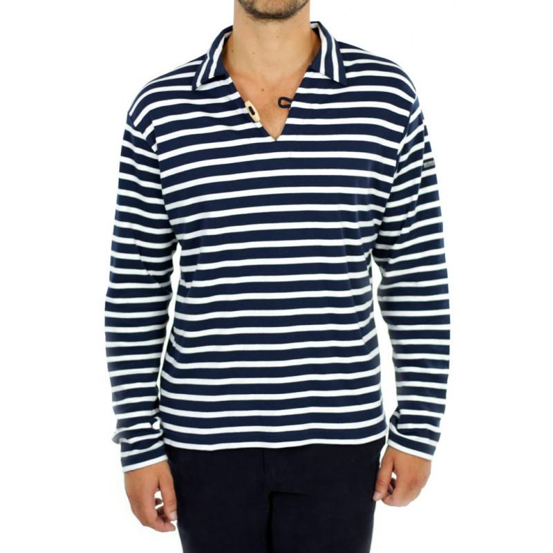 Mouette marine blanc - Tee-shirt homme manches longues HUBLOT 1a2e1da6a4f1