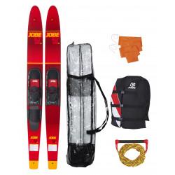 "Pack ski nautique combo ALLEGRE Rouge - 67"" - JOBE"